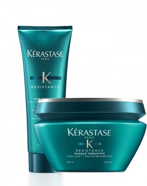 KERASTASE RESISTANCE - Bain Therapiste 250 ml + Masque Therapiste 200 ml