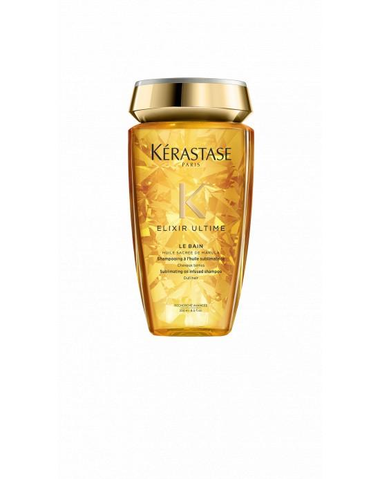 KERASTASE Bain Elixir Ultime 250 ml - Shampoo con olio di Marula