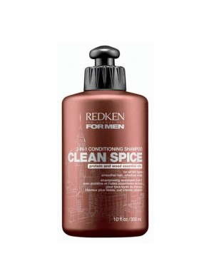 FOR MEN - CLEAN SPICE 2-IN-1 Conditioning Shampoo 300 ml