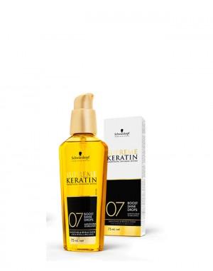 Schwarzkopf Professional Supreme Keratin 07 Boost Shine Drops 75 ml