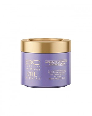 SCHWARZKOPF BC OIL MIRACLE BARBARY - Fig Oil Restorative Mask 150 ml