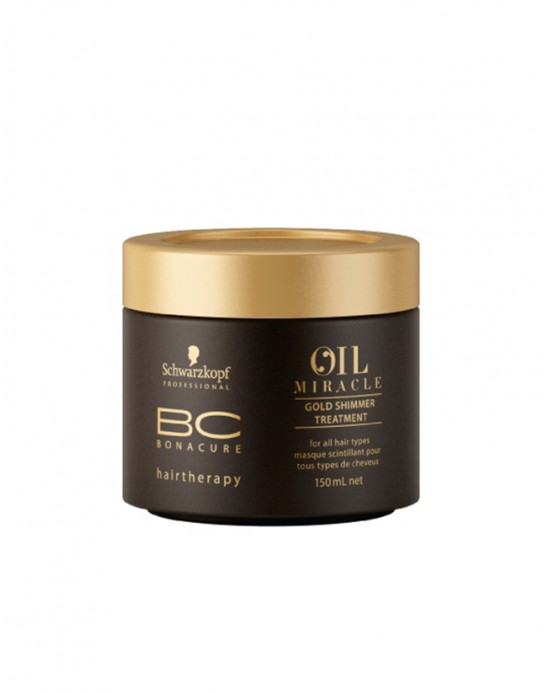 SCHWARZKOPF BC OIL MIRACLE - Gold Shimmer Treatment 150 ml