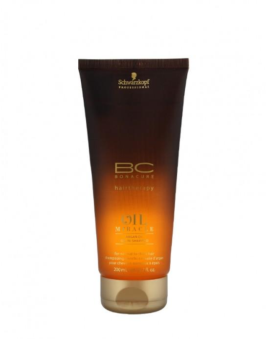SCHWARZKOPF BC OIL MIRACLE - Argan Oil-in-Shampoo 200 ml