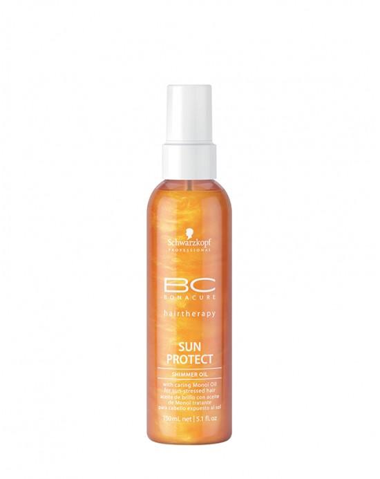 SCHWARZKOPF BC SUN PROTECT - Shimmer Oil Spray 150 ml