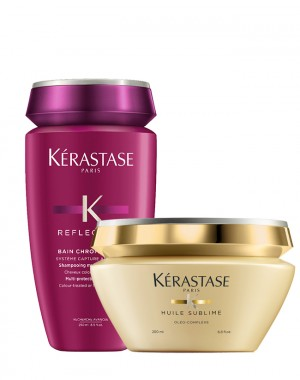 Kérastase New Bain Chromatique 250 ml + Masque Elixir Ultime 200 ml