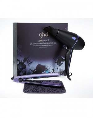 KIT GHD AIR PHON NOCTURNE & PIASTRA GOLD V