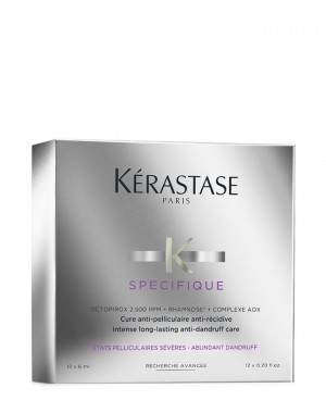 KERASTASE SPECIFIQUE - Cure Anti-Pelliculaire Fiale 12 x 6 ml